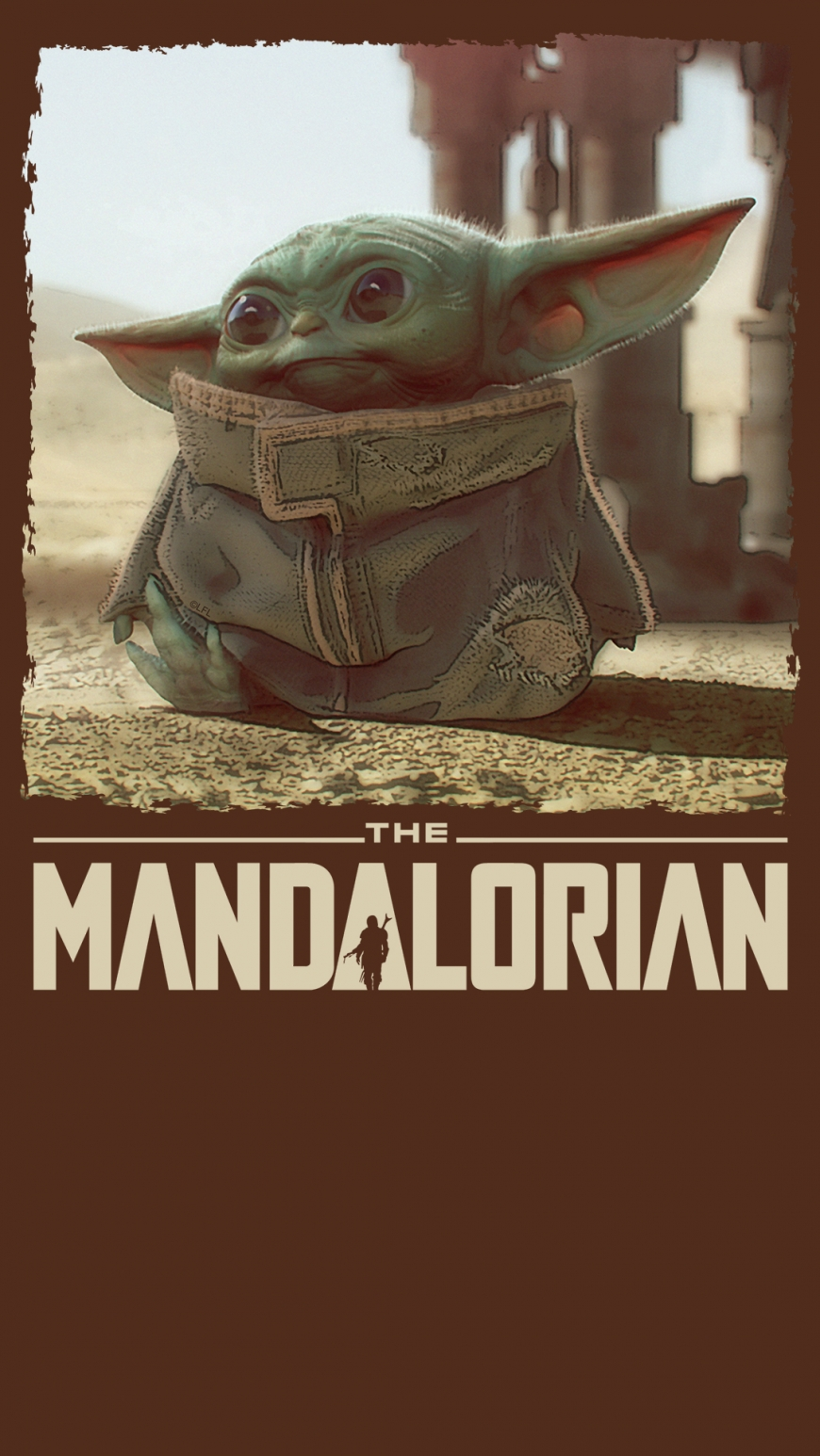 The Mandalorian Baby Yoda wallaper