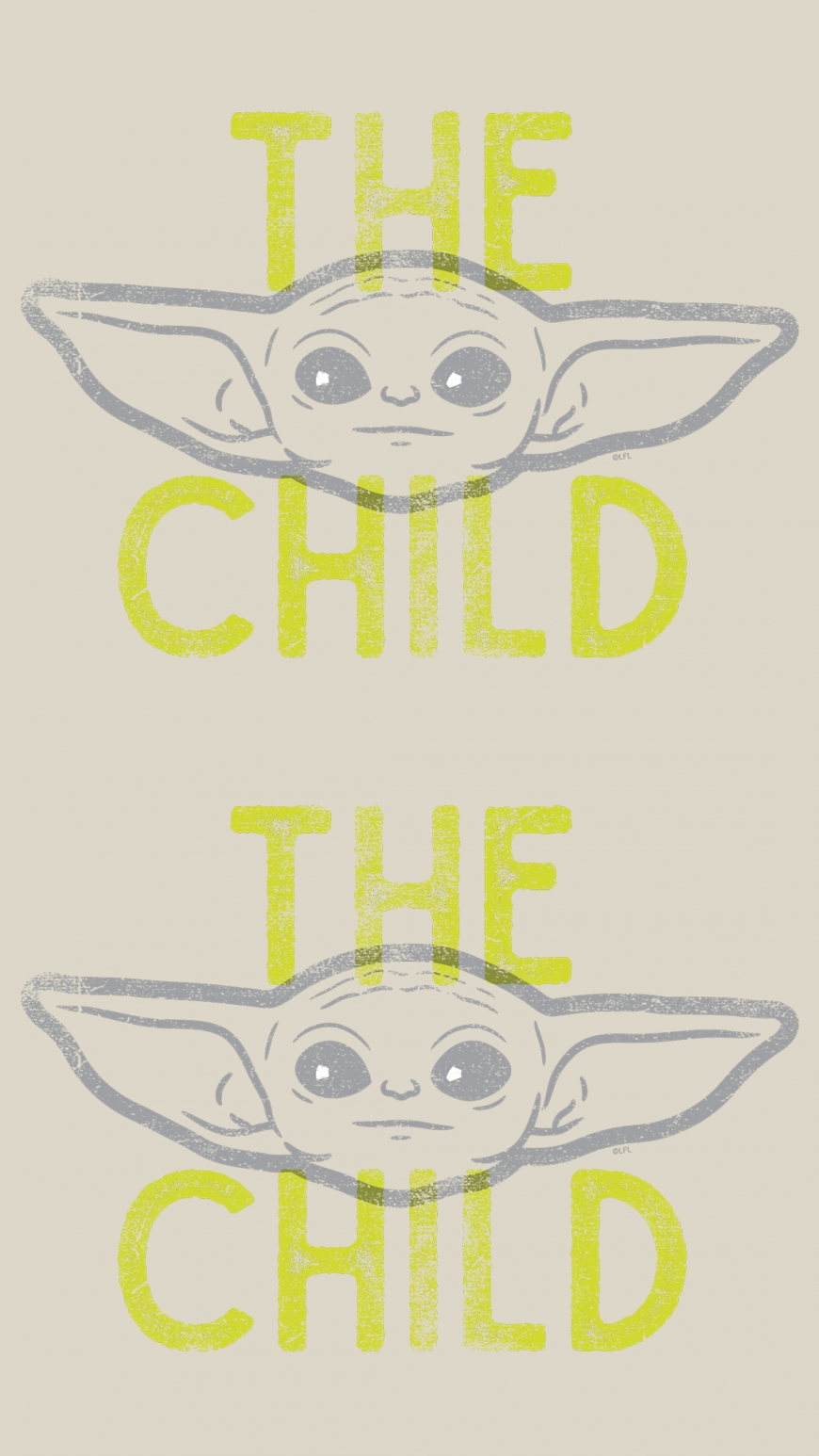 Baby Yoda background