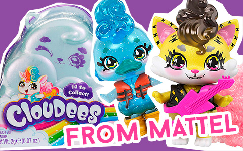 New toys 2020: Mattel Cloudees pets - cloud themed surprise figures