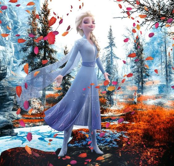 New Elsa image with leaves