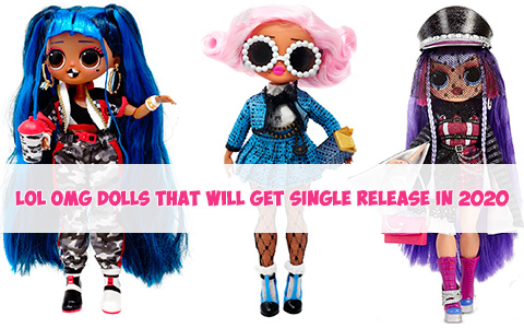 Second wave of LOL OMG Series 2 dolls: Single release Uptown Girl, Downtown BB and Shadow. Where to buy? Release date? Price. Video unboxing