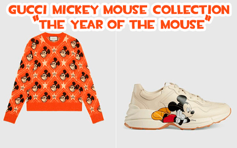 "Gucci Mickey Mouse Collection ""The Year of the Mouse"" 2020. Backpack for $990 anyone?"