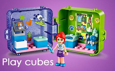 5 New 2020 LEGO Friends Play Cube compact toys -  Big fun in a small space