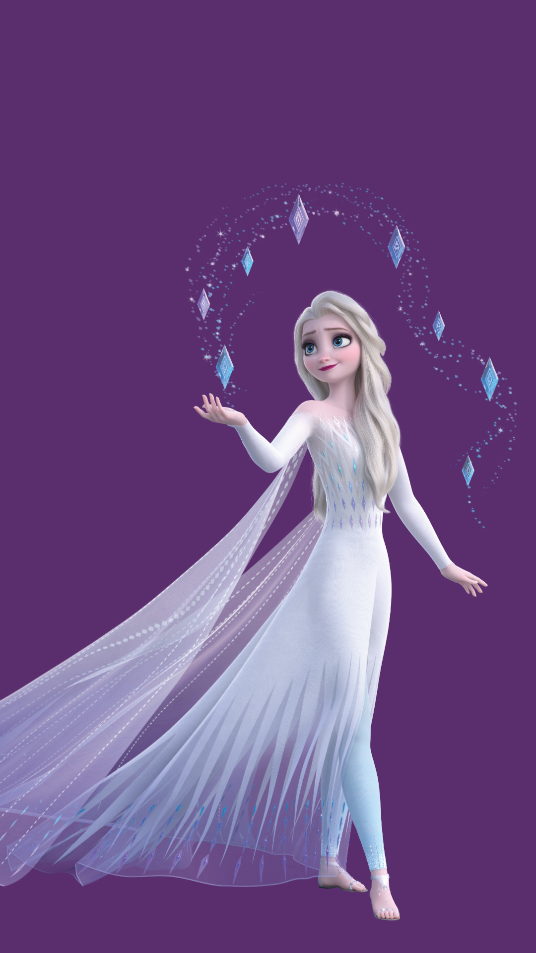 15 New Frozen 2 Hd Wallpapers With Elsa In White Dress And Her Hair Down Desktop And Mobile Youloveit Com