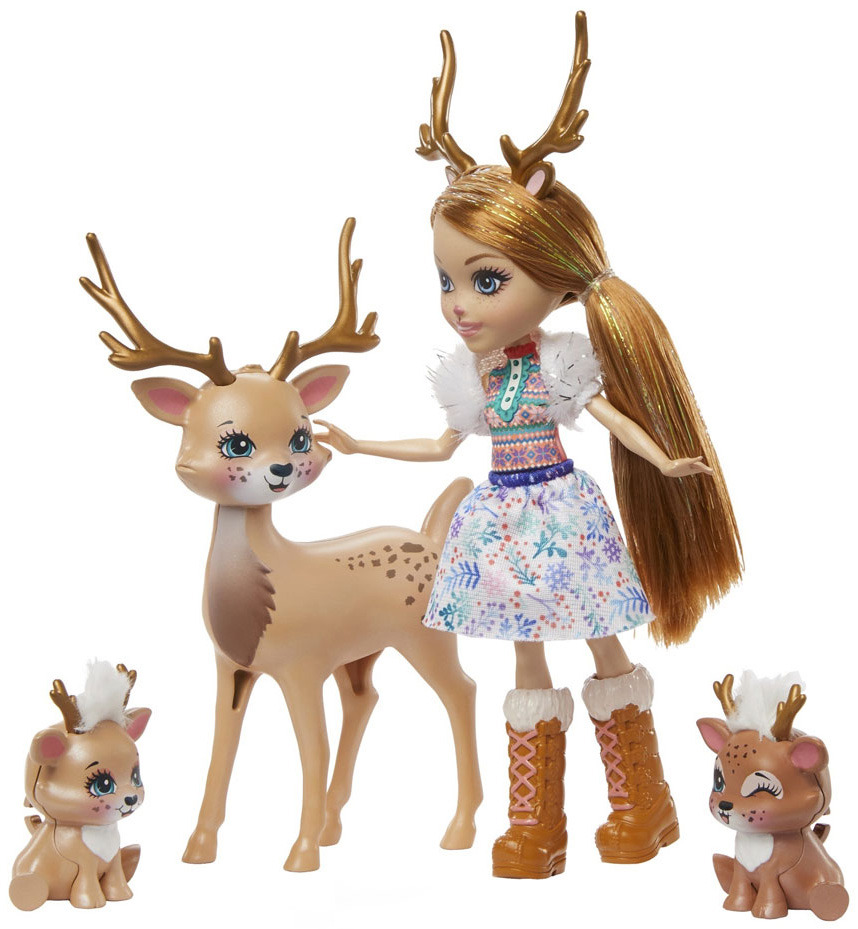 New 2020 Enchantimals Family Winter Themed Dolls And