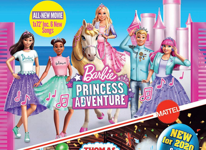Barbie Princess Adventure movie 2020