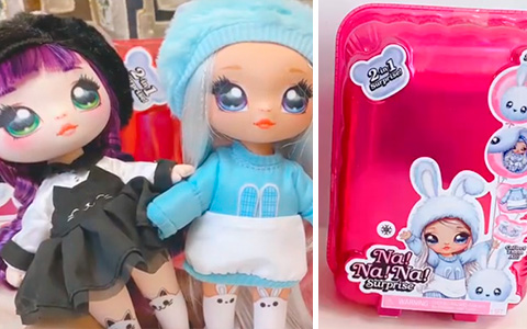 First images of the Na Na Na Surprise series 2 dolls