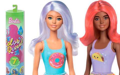 Barbie Color Reveal series 2 dolls