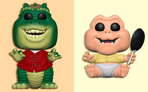 Super nostalgic release: Funko Pop Dinosaurs tv series