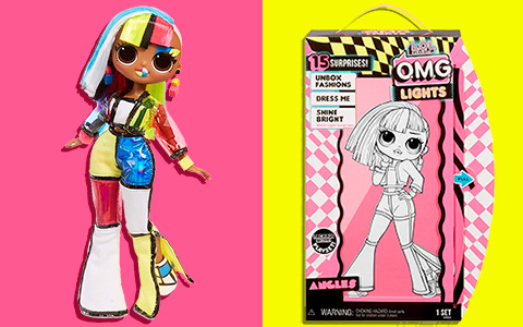LOL Surprise OMG Lights Angles doll. Promo images. Release date. Price.