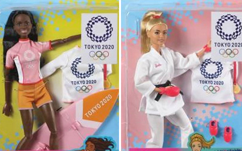 Barbie Tokyo 2020 Olympic Games dolls. Update with photos