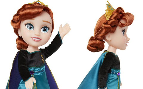 Frozen 2 Queen Anna doll JAKKS Pacific