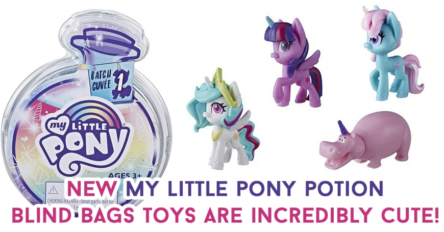 New my little pony potion blind bags 2020