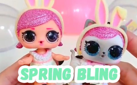 LOL Surprise Spring Bling easter toys 2020 first live photos