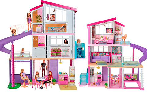New Barbie Dream House doll house 2020