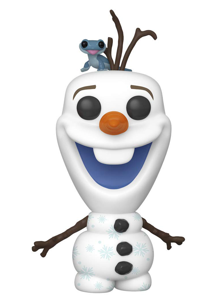 Frozen 2 Funko Pop Olaf with Salamander Bruni