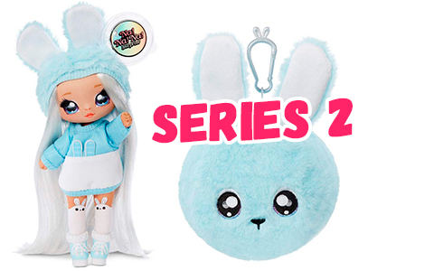 Na Na Na Surprise series 2 dolls stock images