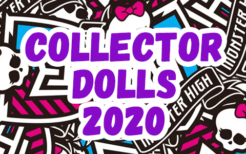 Mattel will release 2 new Monster High collector dolls in 2020!