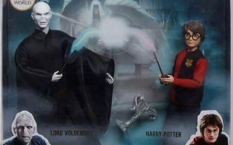 Upcoming new Harry Potter dolls from Mattel in 2020: Voldemort and Harry Potter Doll 2-Pack, Snape & Snake, Luna