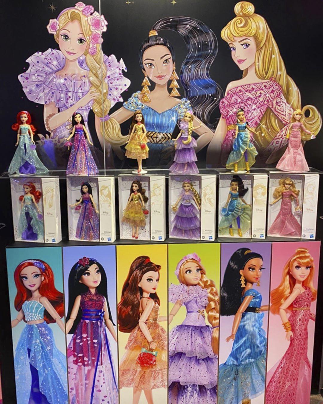 New Dolls In Hasbro Disney Princess Style Series Rapunzel