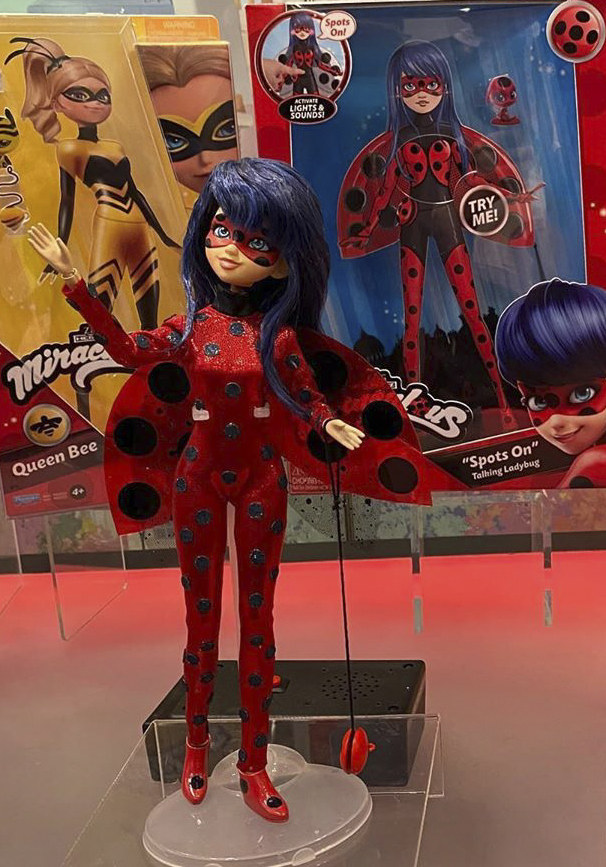 Playmates Miraculous Ladybug with hair down doll
