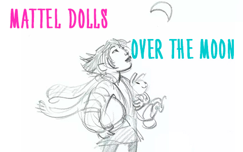 Mattel's dolls for Netflix Over the Moon animated movie are scheduled for release in August 2020