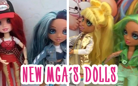 New Rainbow Surprise Peel The Rainbow fashion dolls coming in 2020