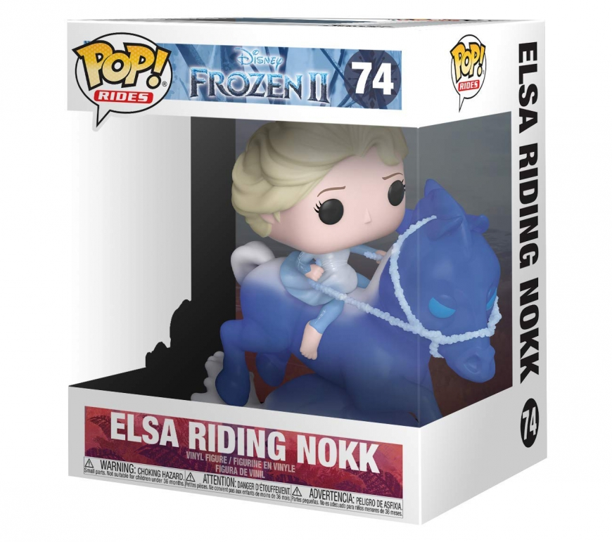 Frozen 2 Funko Elsa riding Nokk