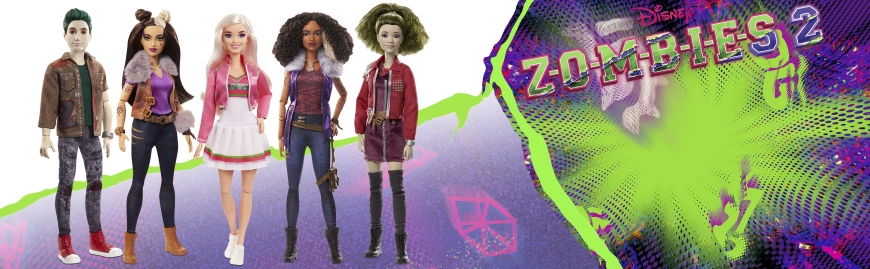 Disney Zombies 2 dolls