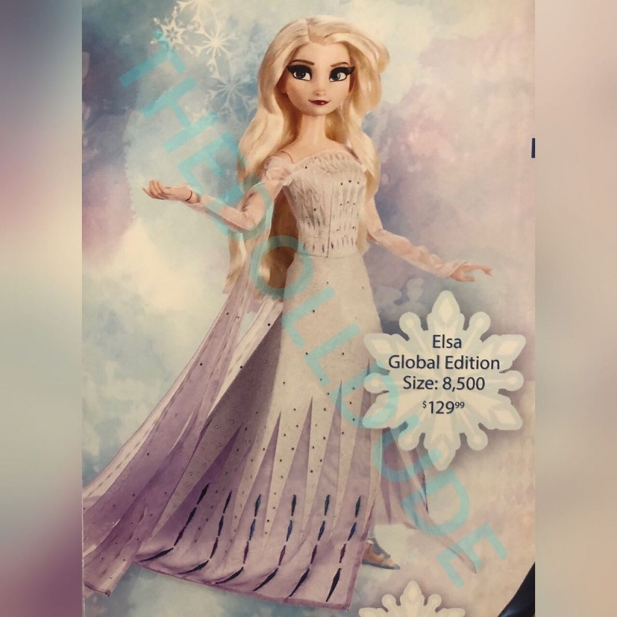 List of the upcoming Disney Limited Edition dolls 2020, including Elsa Frozen 2 white dress Snow Queen and Anna Queen of Arendelle dolls
