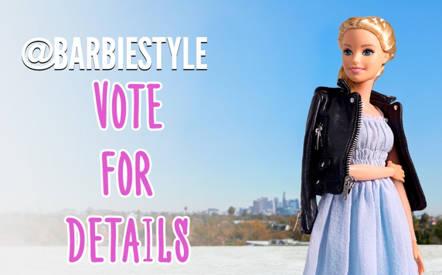 First Barbie Style fashion doll vote