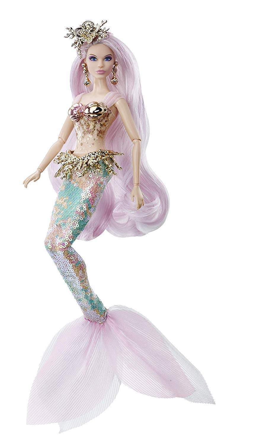 Barbie the Dragon Empress collector doll is out. Stock images and links