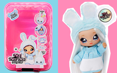 Na Na Na Surprise series 2 dolls are out! Collect all 6 adorable soft fashion dolls