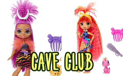 Cave Club dolls been released