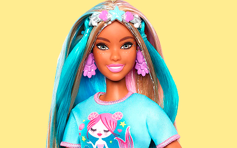 AA Barbie Fantasy Hair doll photos