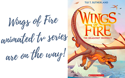 Warner Bros. Animation is working on Wings of Fire animated tv series