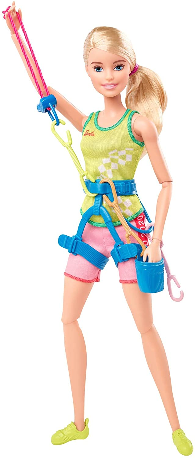 Barbie Tokyo 2020 Olimpic Sport Climbing doll