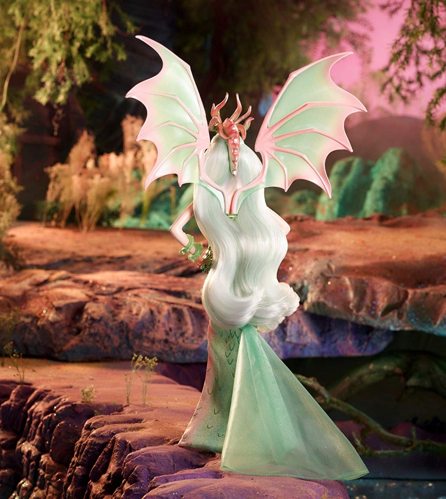 Barbie the dragon empress doll stock pictures
