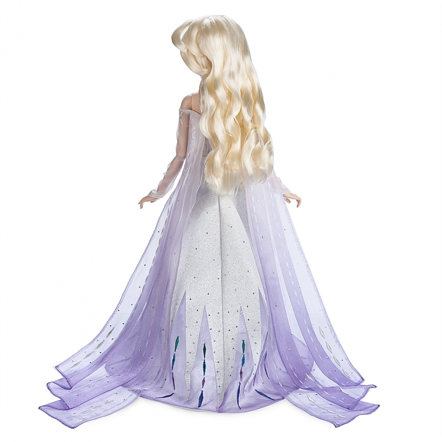 "Updated with links. New detailed pictures of Elsa and Anna Frozen 2 17"" Limited Edition dolls - Elsa Snow Queen and Anna Queen dolls"
