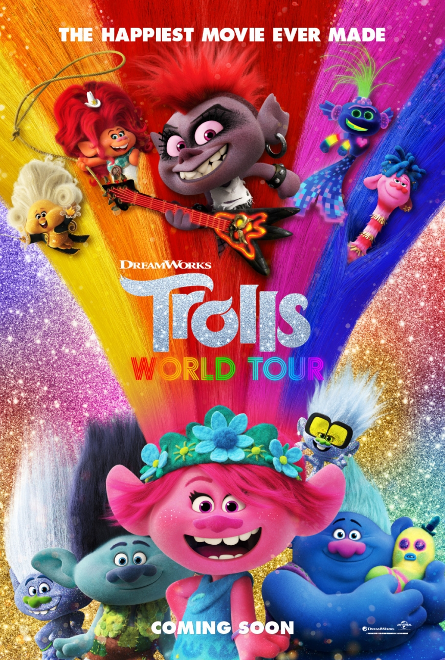 Trolls World Tour will be available on demand on the cinemas release day