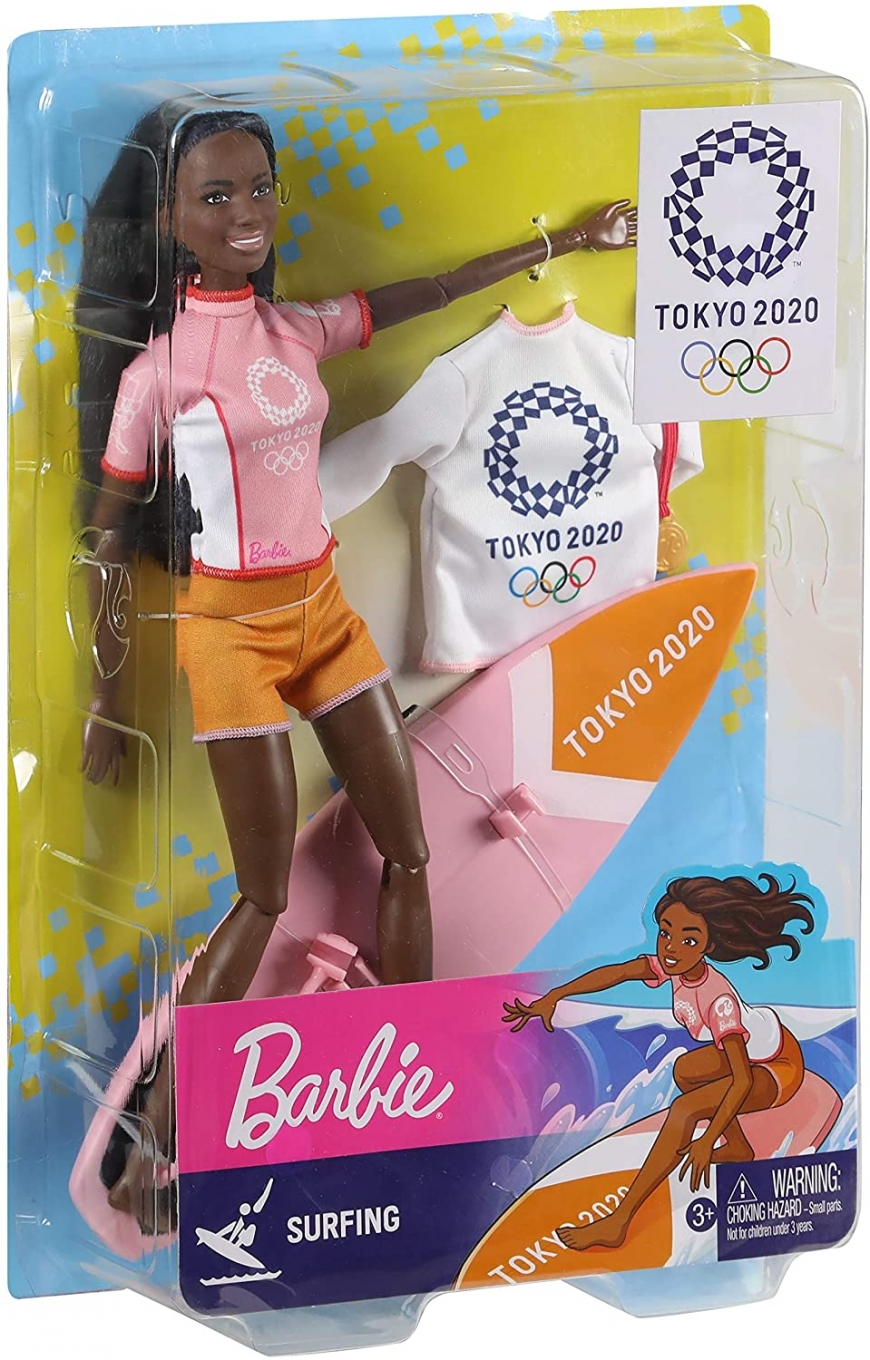 Barbie Tokyo 2020 Olimpic Surfing doll