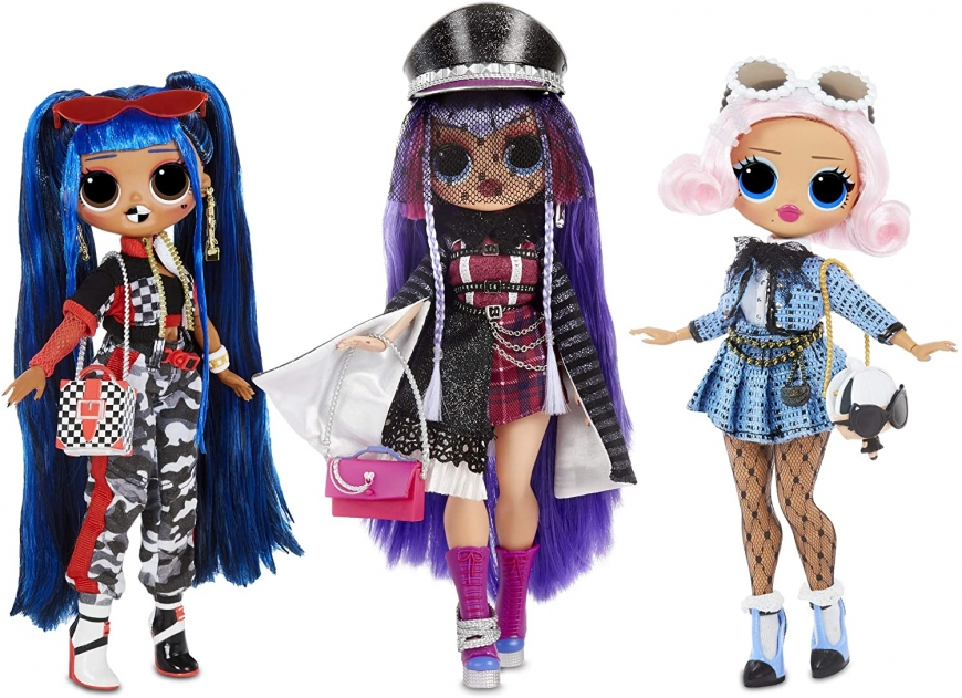 New stock images of LOL OMG 2.8 series single Uptown Girl, Downtown B.B. and Shadow dolls