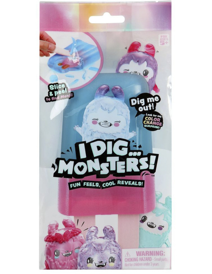 I DIG MONSTERS Popsicle Pack