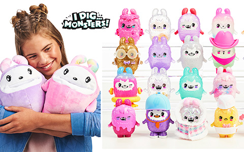I DIG MONSTERS new super cool and asmr toy surprise collectibles