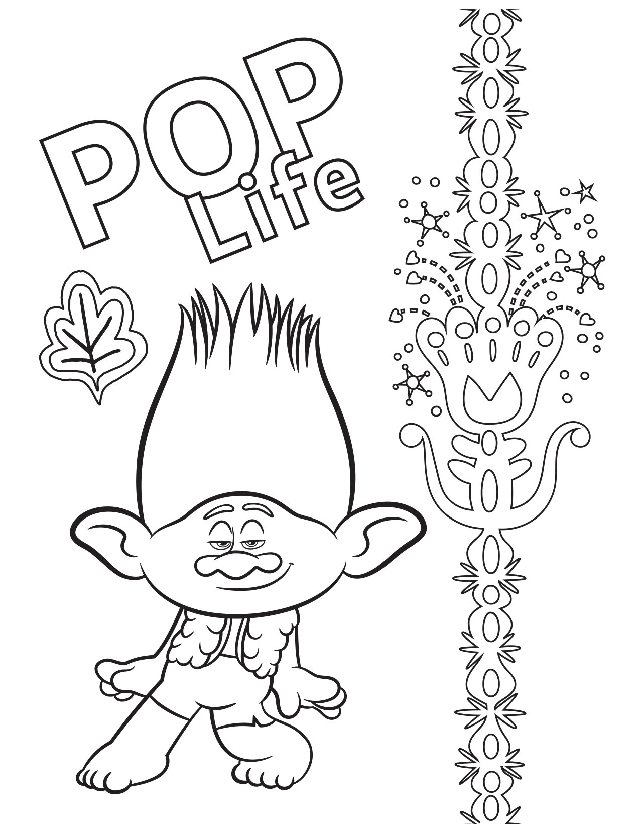 Trolls World Tour coloring pages - YouLoveIt.com