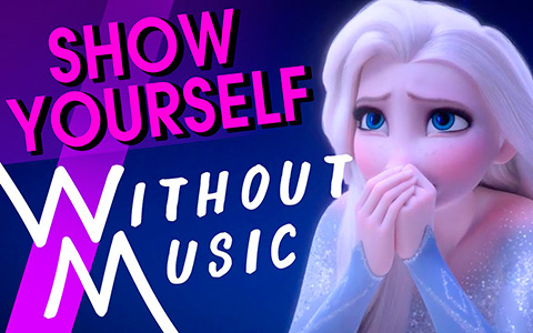 Frozen 2 Elsa's songs without music. This is amazing!