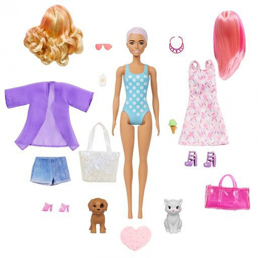 Barbie Ultimate Color Reveal doll with 25 surprises