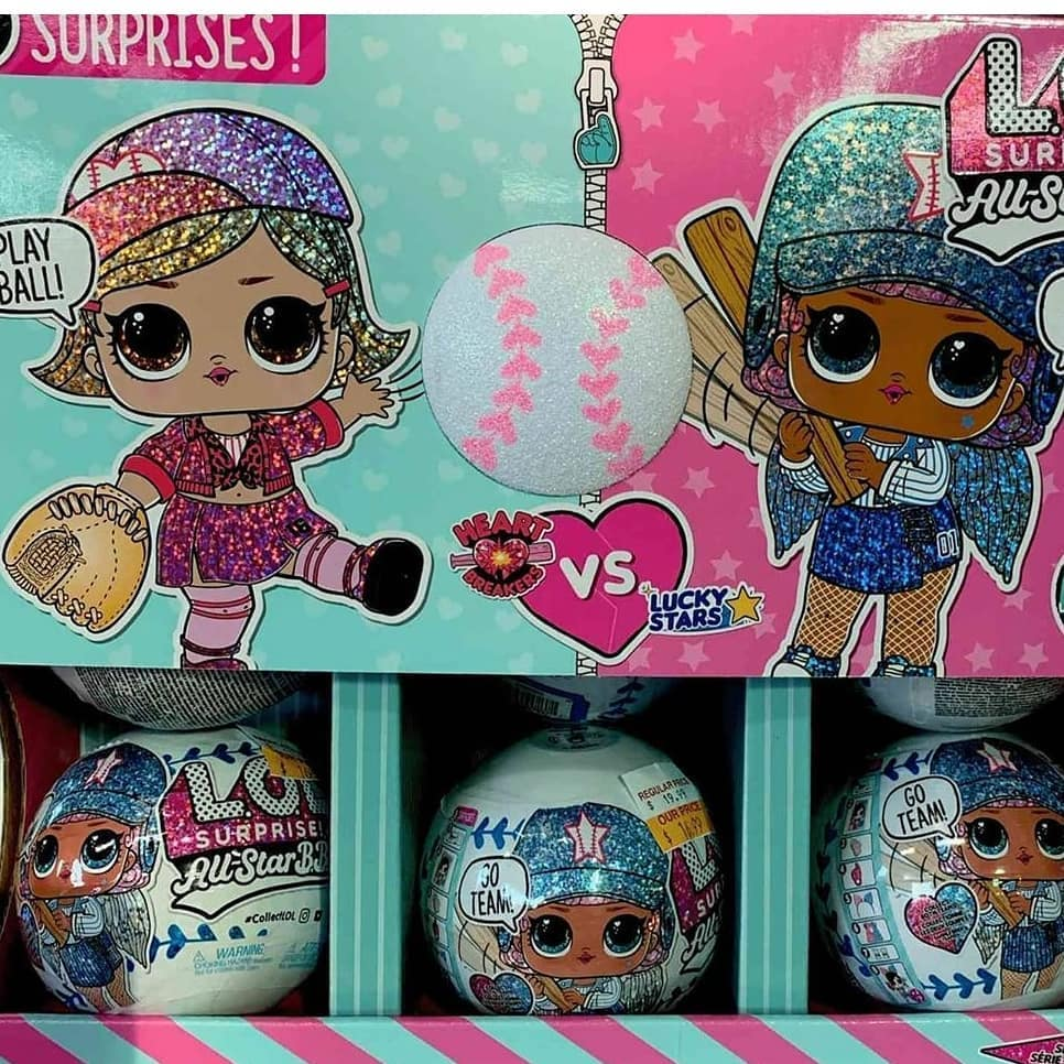 no ball LOL Surprise All Star BBs Funky QT doll w//accessories