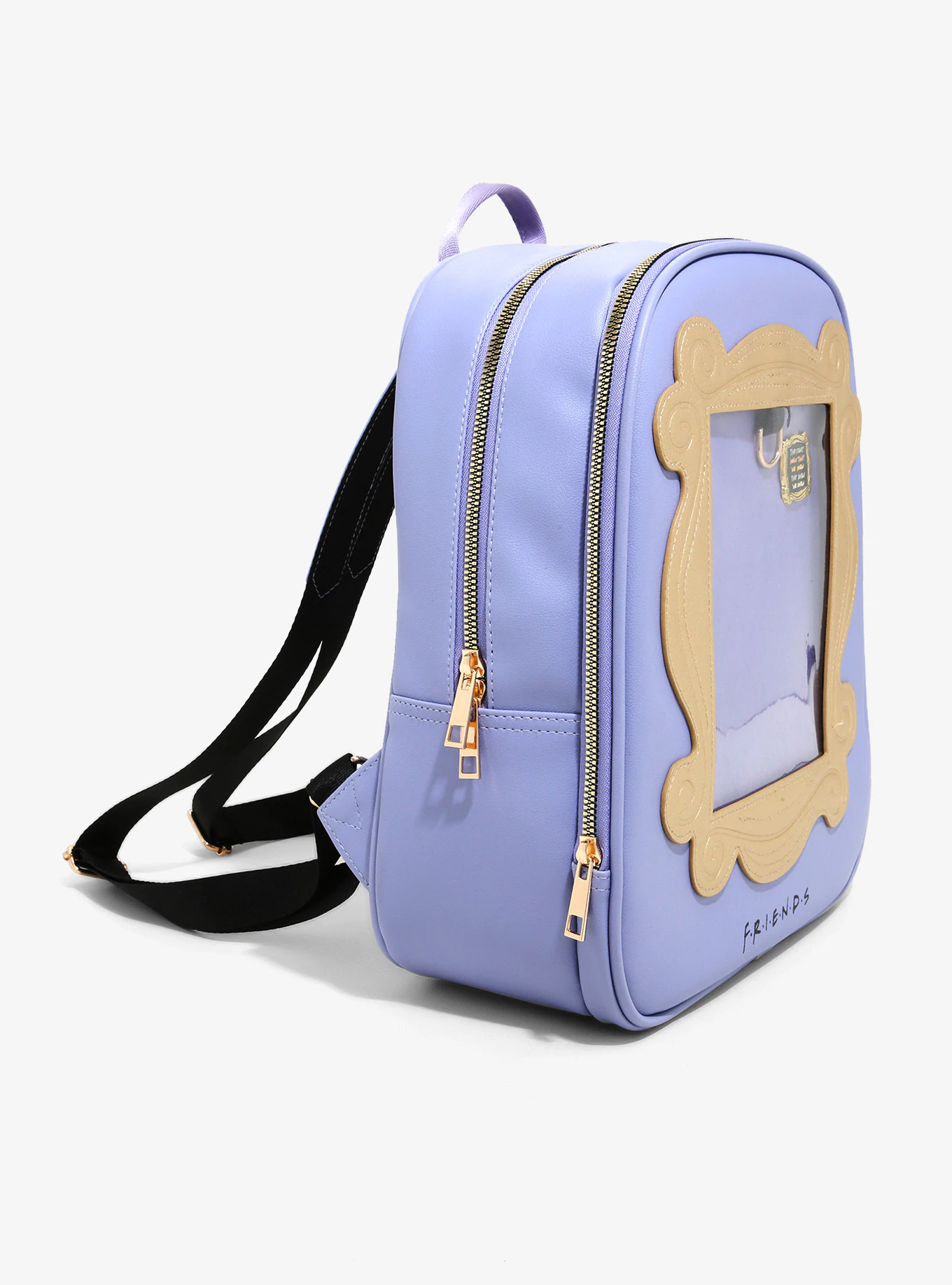 Cute Finds: Friends Pin Collector Mini Backpack with die cut