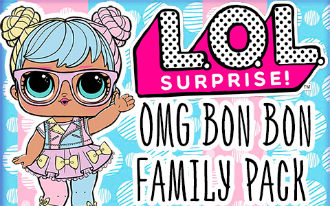 LOL Surprise OMG Bon Bon Family Pack - exclusive doll set